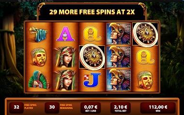 Montezuma Slot Williams Interactive