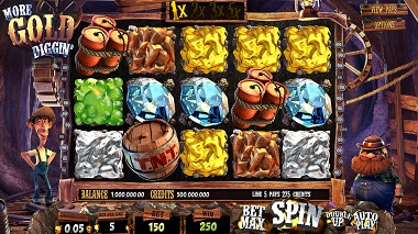 More Gold Diggin Video Slot