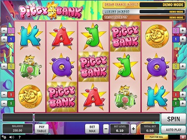 Play Piggy Bank Slots with No Download
