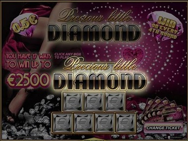 Precious Little Diamond Scratch Card