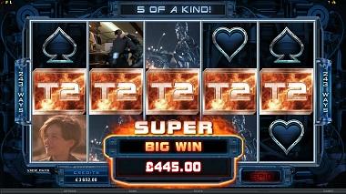 Terminator 2 Slot Big Win