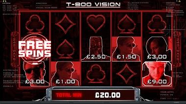 Terminator 2 Slot T-800 Vision