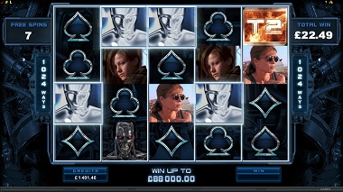 Terminator Slot Free Spins