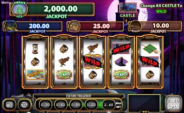 Wicked Riches Slot Williams