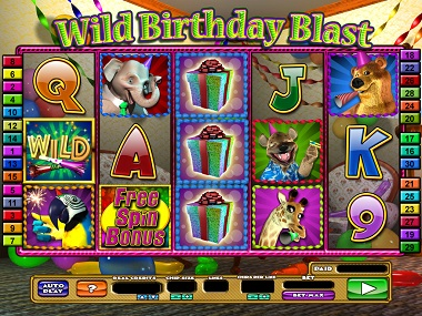 Wild Birthday Blast Slot Game