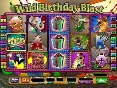 Wild Birthday Blast Slot Game