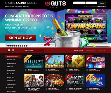 Big Winner Guts Casino