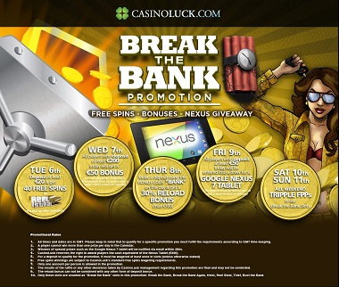 Break the Bank CasinoLuck