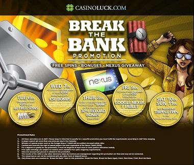 Break the Bank CasinoLuck