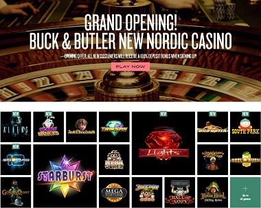 Buck & Butler Casino Lobby