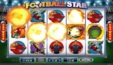 Football Star Casino Game