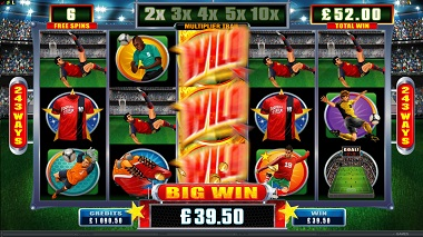 Football Star Slot Game