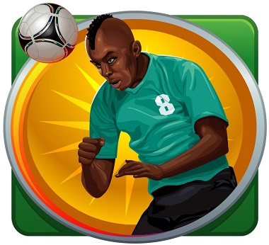 Football Star Slot Player Symbol