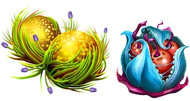 Fruitoids Symbols