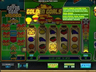 Golden Goals Slot