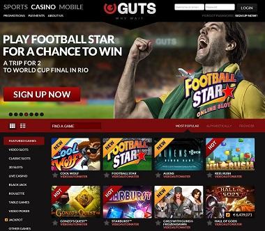 Casino football promotions