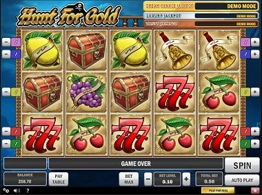 Hunt for Gold Jackpot Slot