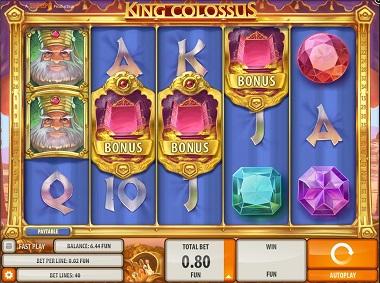 King Colossus Slot Bonus