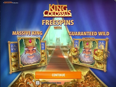 King Colossus Slot Free Spins