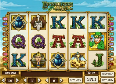 Leprechaun goes Egypt Slot Game