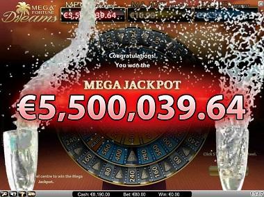 Mega Fortune Dreams Jackpot Win