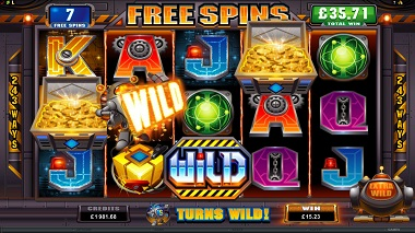 RoboJack Slot Game