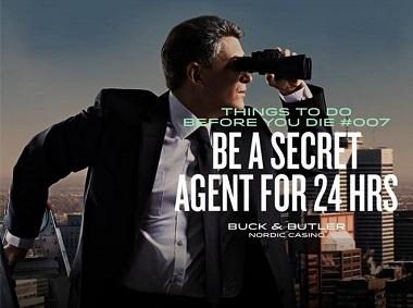Secret Agent Buck and Butler