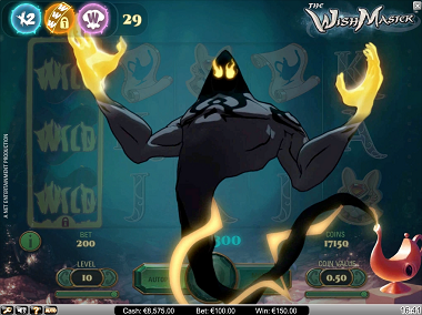 The Wish Master NetEnt Slot