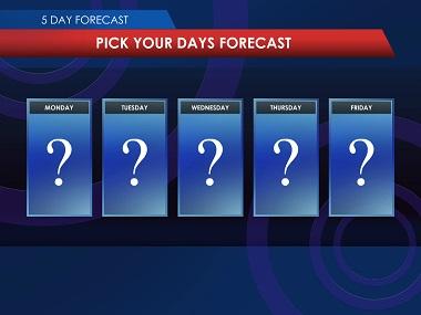 Today's Weather Slot Bonus