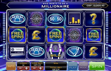 Who Wants To Be A Millionaire Slot Ash