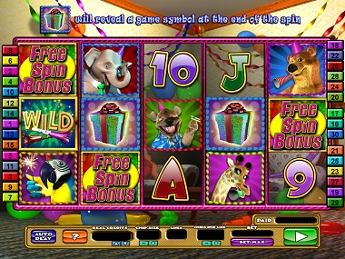 Wild Birthday Party Slot Game