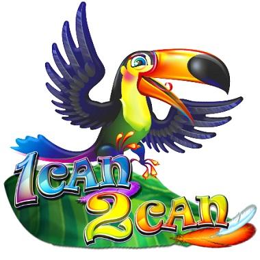 1 Can 2 Can NextGen Slot Logo