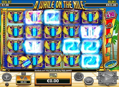 A While On the Nile Bonus Game