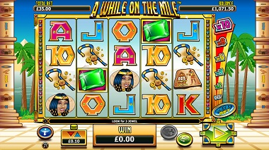A While on the Nile Video Slot