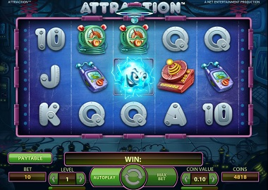 Attraction Slot Game NetEnt