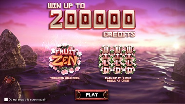 Fruit Zen Slot Game