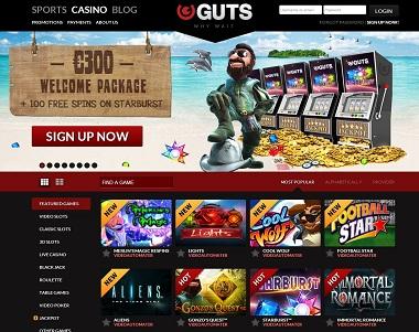 Guts Casino Summer