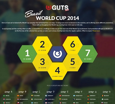 Guts World Cup Promotion