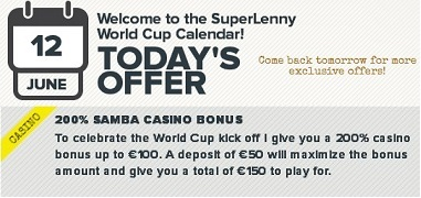 June 12 World Cup Promo