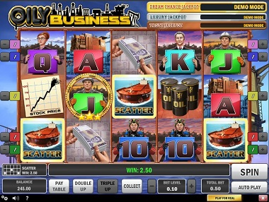 Oily Business Slot Game