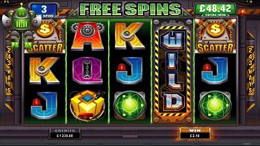 RoboJack Slot Free Spins