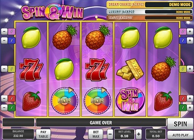 Spin & Win Slot Game