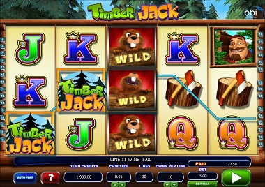 Timber Jack Casino Slot
