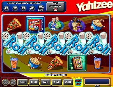 Yahtzee Williams Interactive Slot