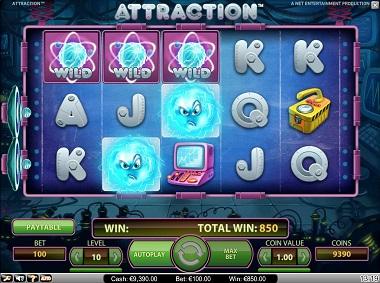 Attraction Slot NetEnt