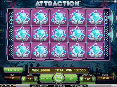 Attraction Slot Wilds