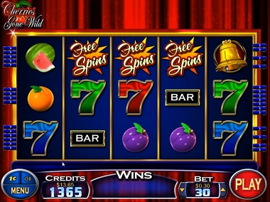 Cherries Gone Wild Free Spins