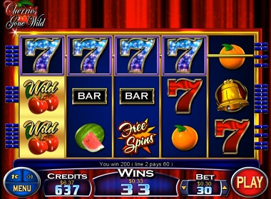 Cherries Gone Wild Online Slot