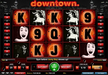 Downtown Slot 1x2gaming