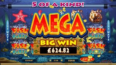 Fish Party Mega Big Win